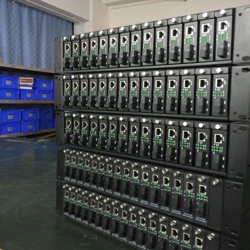 16槽收发器机架