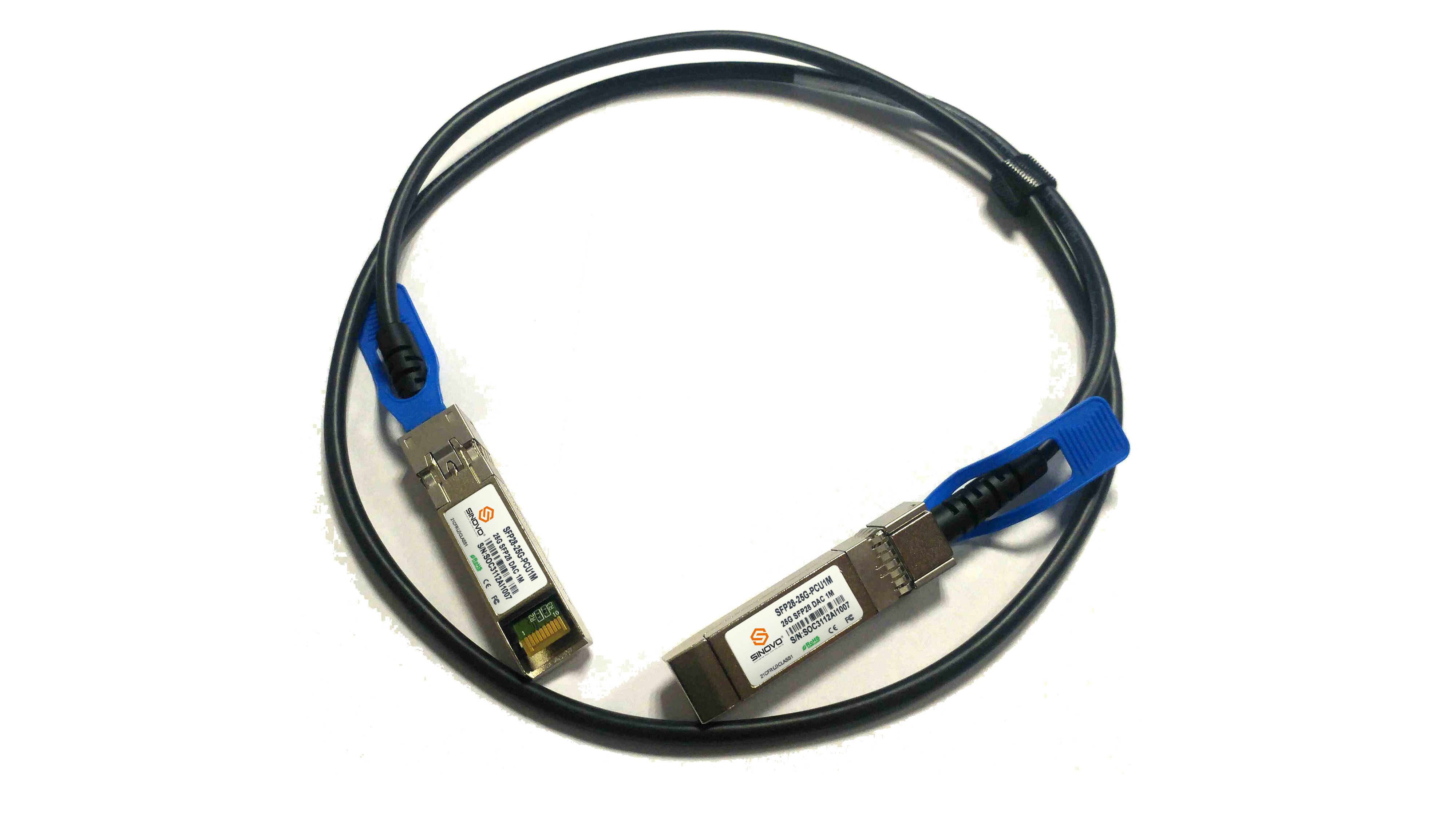 25G QSFP+ Direct Attach Cable (DAC)