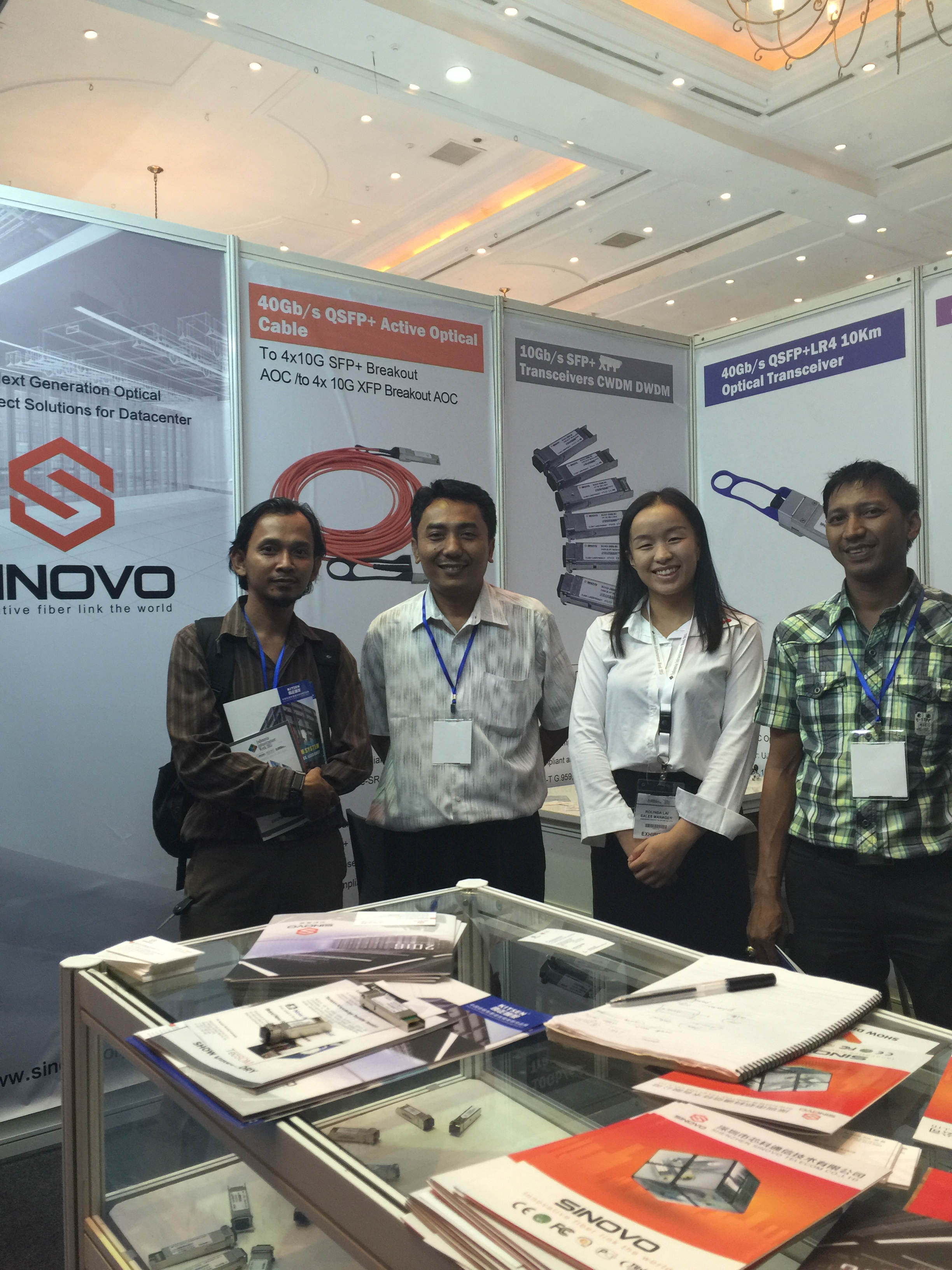 SINOVO Attended the 2015 Indonesia CONNET EXPO