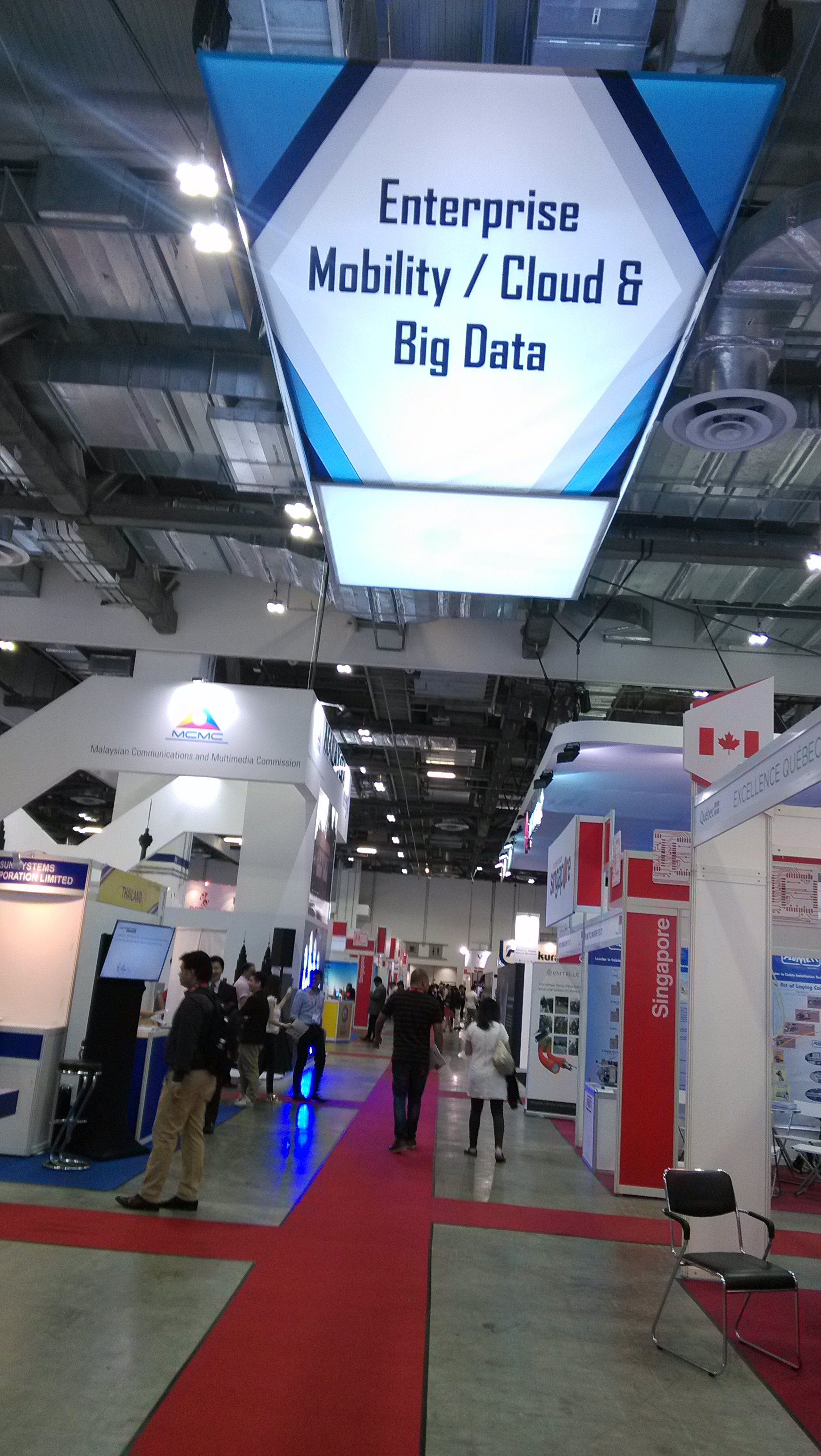 SINOVO attended 2016 CommunicAsia in Singapore