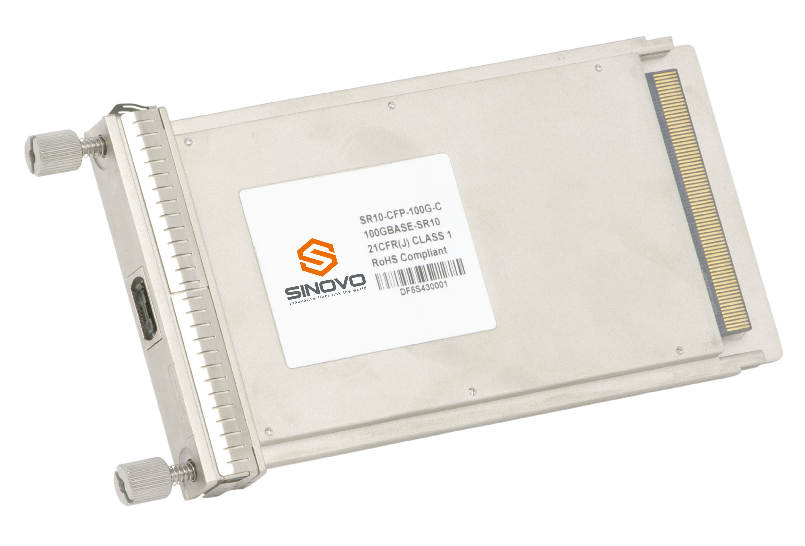 100Gb/s CFP4 optical module sinovo telecom